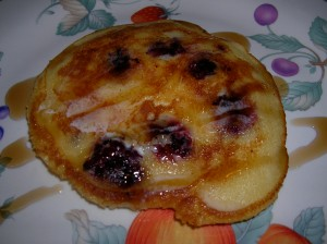 Blackberry Buttermilk Pancake Joe 3