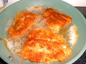 Tuesday Lunch Pan-Fried Bass