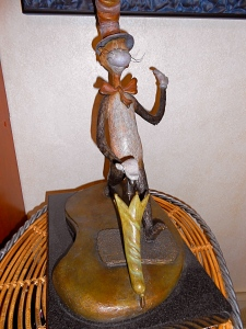 """Bronze Statue ... The Cat In The Hat"""
