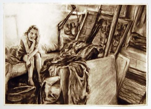 """Clutter Portrait2 by Andy Mangold Dec20,2008"""