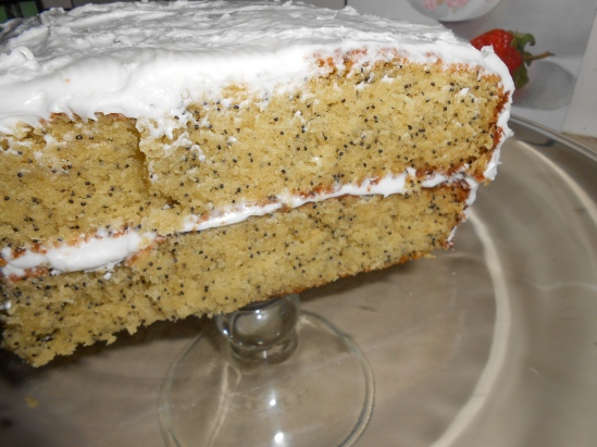 """Moist ~ Heavy ~ Poppy Seed Cake"""