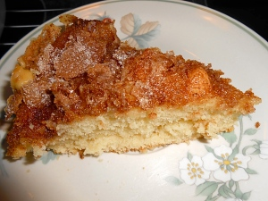 """Retro Cinnamon Sugar Coffee Cake"""